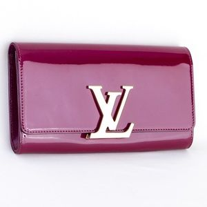 Louis Vuitton Louise EW clutch in Rose